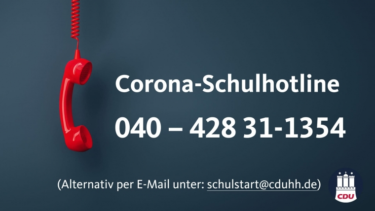 Corona-Schulhotline